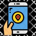 Map Pin Navigator Icon