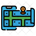 Map Gps Lacation Icon