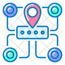 Map Site Site Map Icon