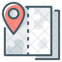 Map Cartography Location Icon