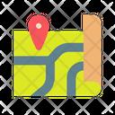 Map Location Navigate Icon