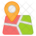 Map Geolocation Gps Icon