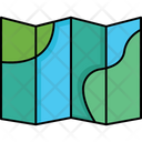 Goal Guide Book Map Icon