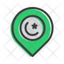 Map Marker Pin Icon