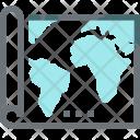 Map World Tour Icon