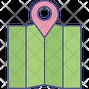 Location Map Navigation Icon