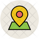 Map Pin Location Icon