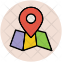 Map Pin Locator Icon