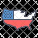 Map United States Icon