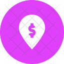Map Marker Atm Icon