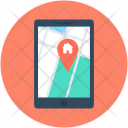 Map Device Gps Icon