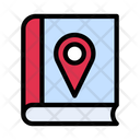 Map Location Library Icon
