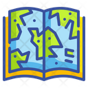 Map Book Icon