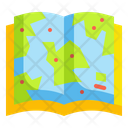 Map Book Map Book Icon