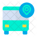 Map Bus Icon