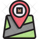 Map delivery Icon