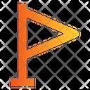 Map Flag Destination Gps Icon