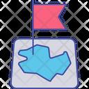Pin Flag Map Flag Marker Flag Icon