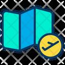 Map Flight Icon