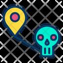 Map Halloween Icon