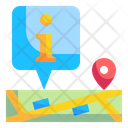 Map Information Map Information Icon