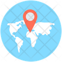 Map Location Exact Location Pointing Placeholder Icon