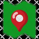 Trip Destination Mark Icon