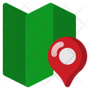 Trip Destination Mark Icon