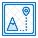 Map Location Travel Photography Icon