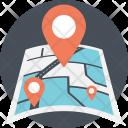 Destination Pointer Map Icon
