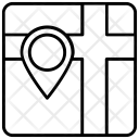Pin Locator Marker Icon