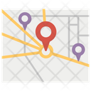 Gps Navigation Location Pin Location Marker Icon