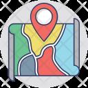 Gps Navigation Map Icon