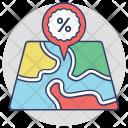 Map Locator Pin Icon