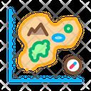 Map Island Cartography Icon