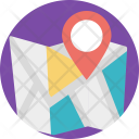 Map Navigation Icon