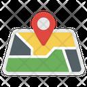 Map Navigation Location Navigation Icon
