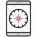 Compass App Tracking Icon