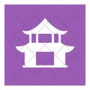 Map Pagoda Temple Icon