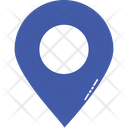 Globe Map Pin Location Icon