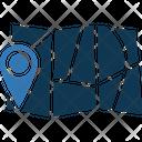 Map Pin Location Pin Map Locator Icon