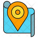 Map Pin Location Pointer Map Icon