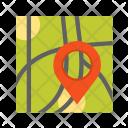 Marked Destination Map Icon