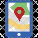 Map Pin Mobile Mobile Map Navigation Icon