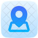 Map Point Placeholder Navigation Icon