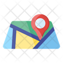 Map Pointer Map Navigation Location Icon
