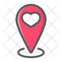 Heart Pin Map Icon
