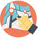 Map Pointing Icon