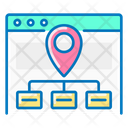 Map Site Map Site Icon