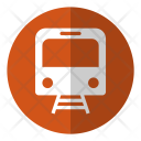 Map Train Railway Icon